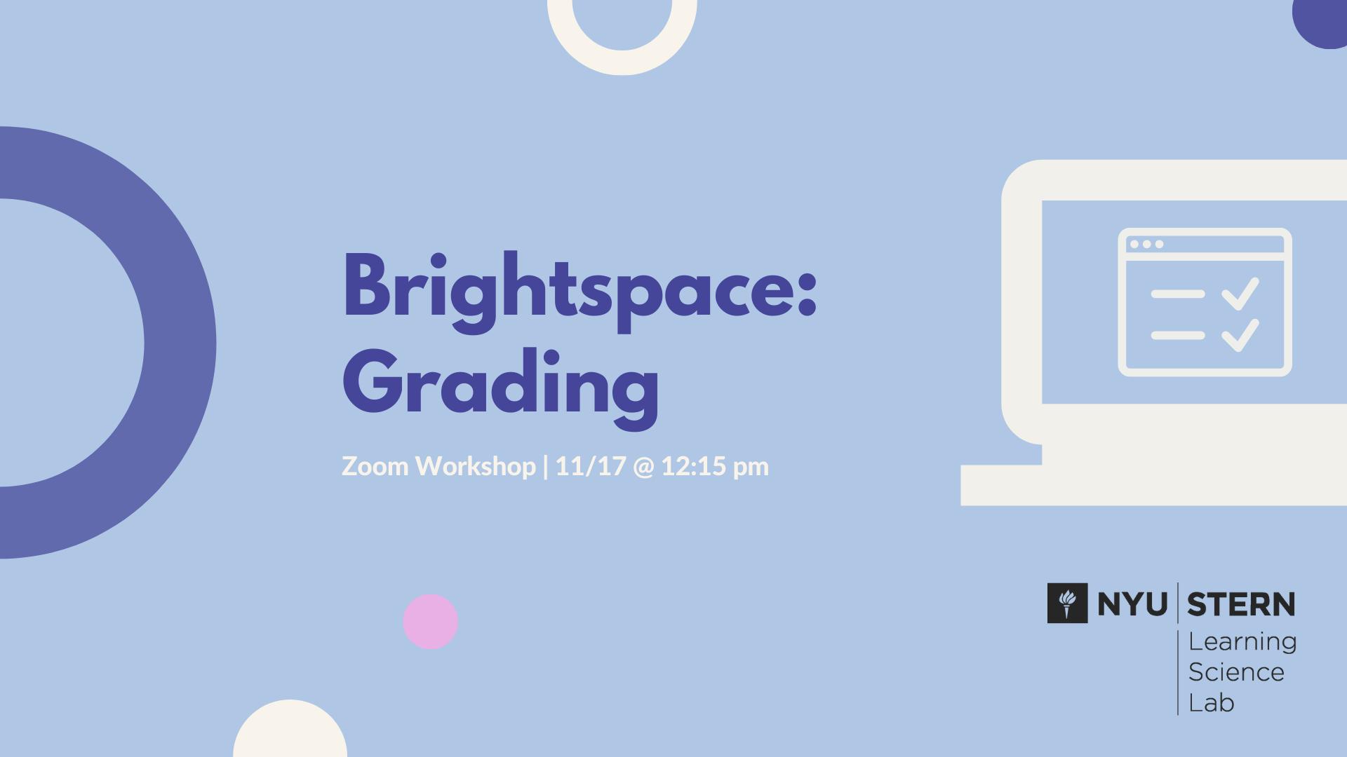 Brightspace Grading