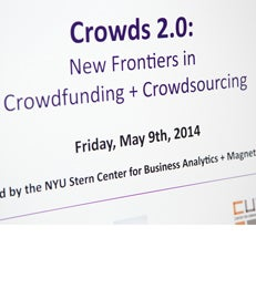 Crowds 2.0: New Frontiers in Crowdfunding + Crowdsourcing