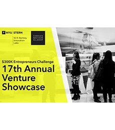 17th Annual NYU Venture Showcase Event Flyer