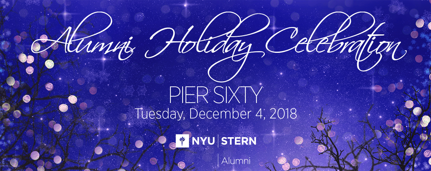 Alumni Holiday Celebration at Pier Sixty, Tuesday, December 4, 2018