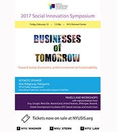 2017 NYU SIS Symposium