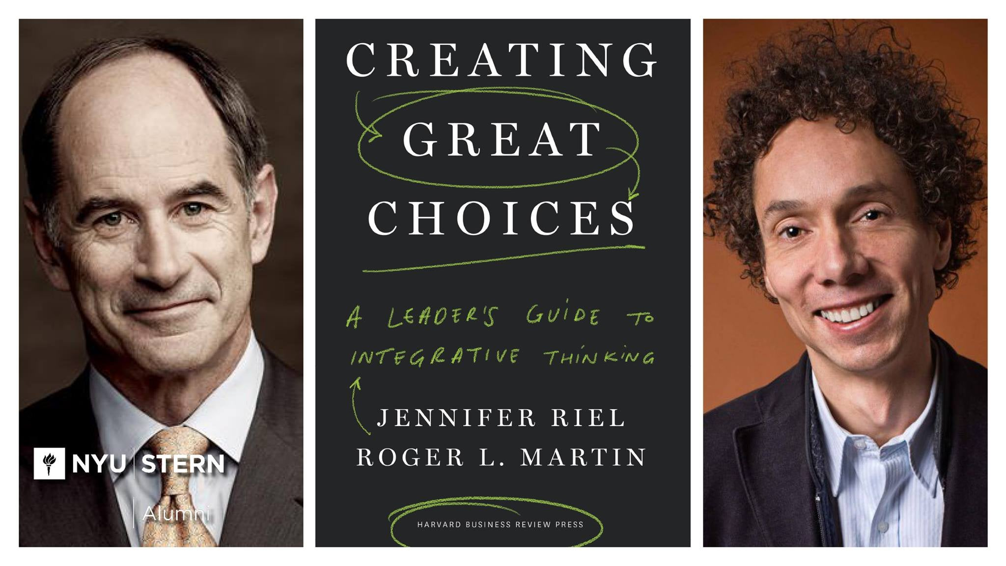 Event | Author Lecture Series | Roger Martin & Malcolm Gladwell body