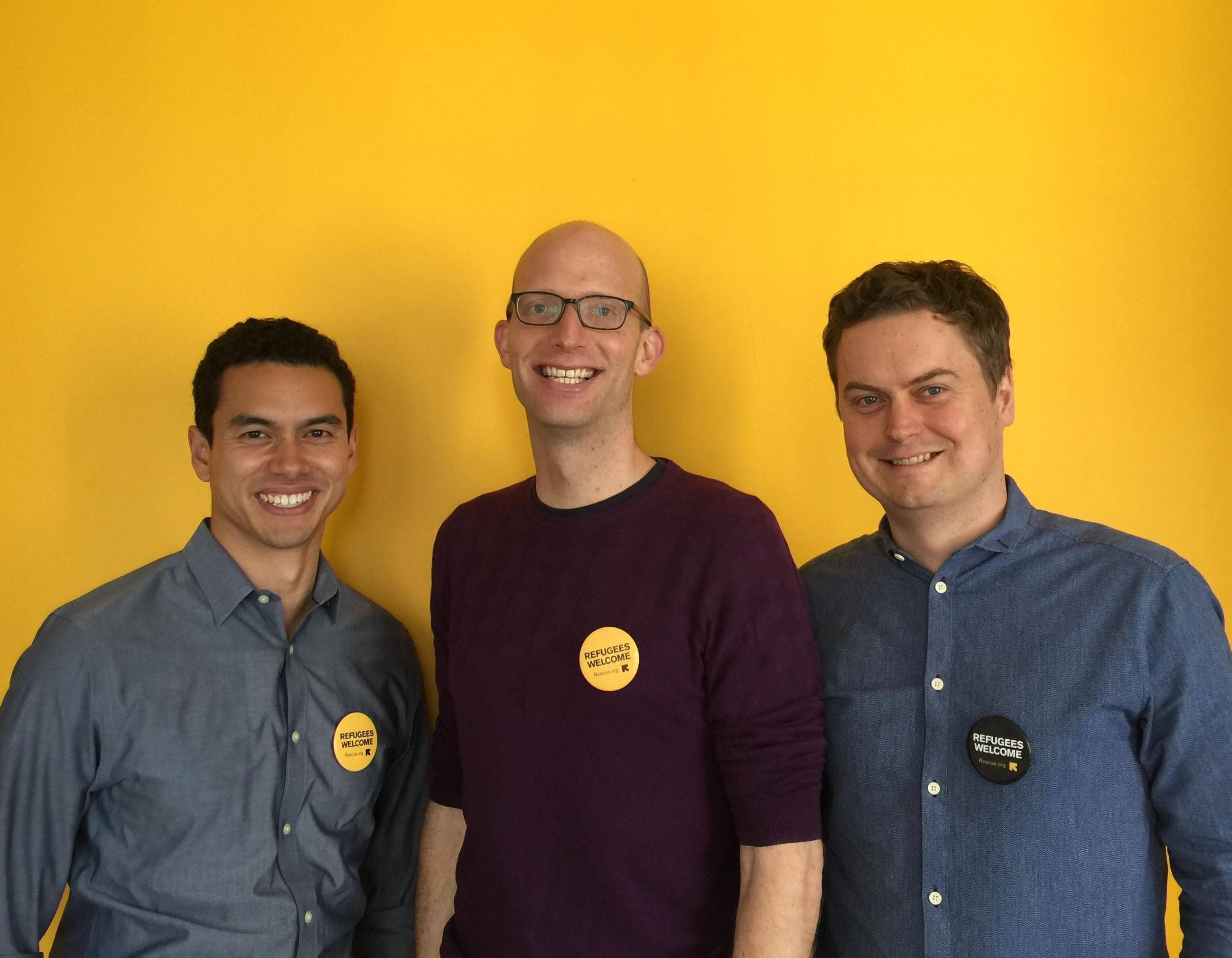 Ben Wise, Austin Riggs, and Matthew Seden
