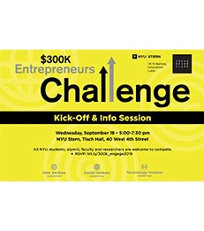$300K Entrepreneurs Challenge Kick-Off & Info Session