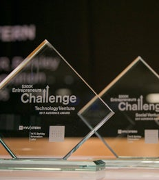 2016-2017 Entrepreneurs Challenge Trophy article