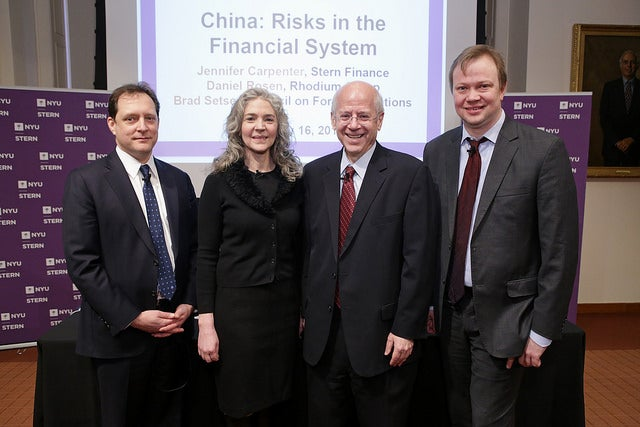 China: Risks in the Financial System