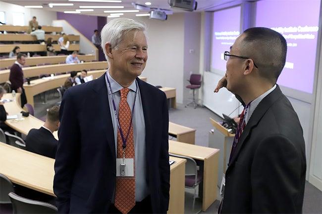 Professor Robert Engle and Xin Zhou