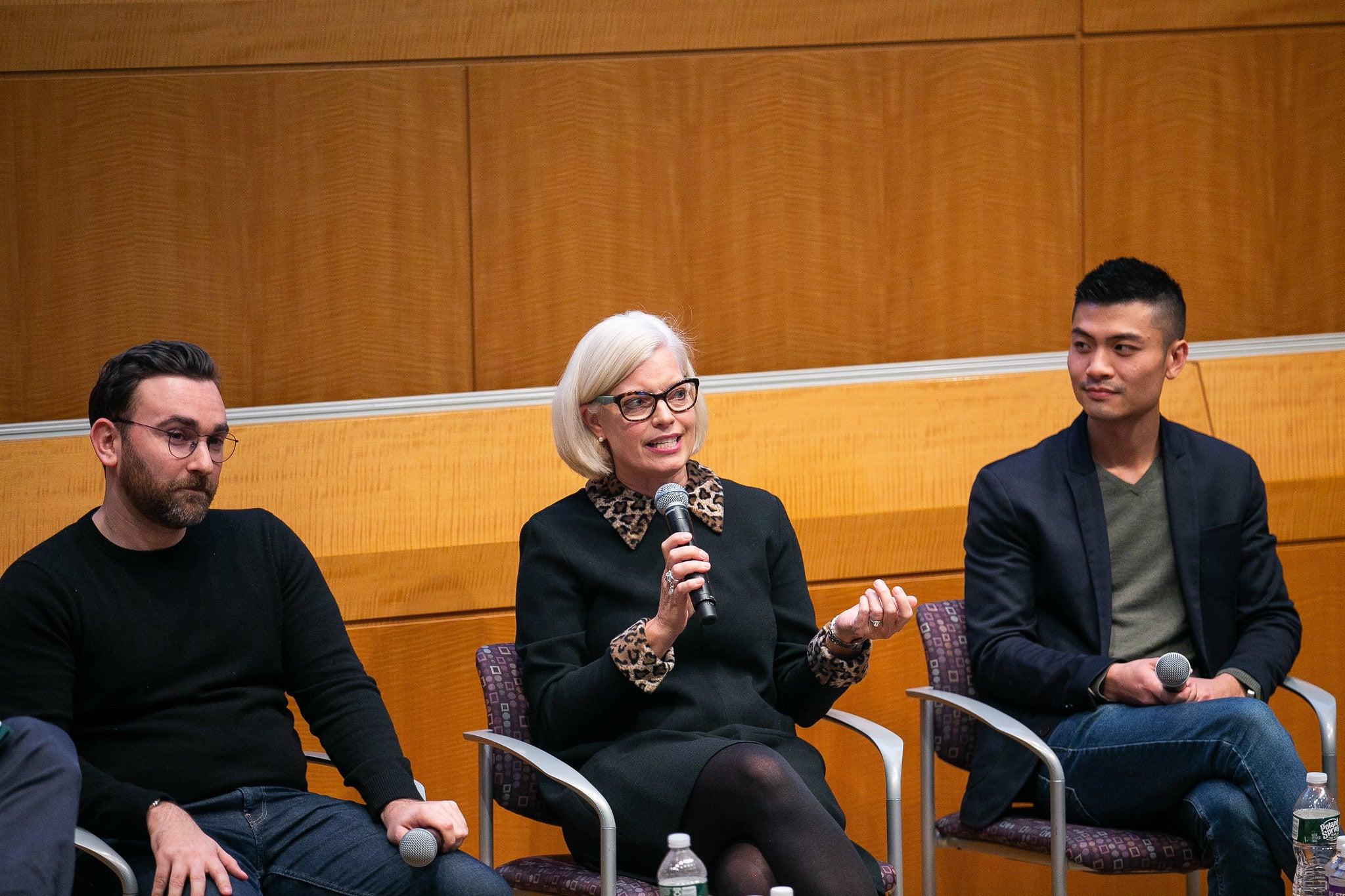 Susan Jurevics at the EMT Summit 2019