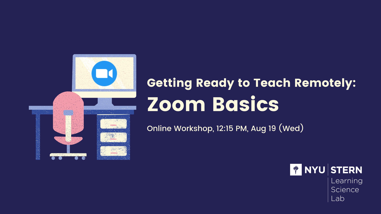 Zoom Basics