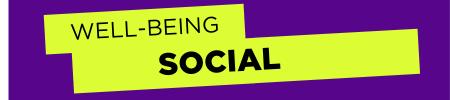 UC Wellbeing: Social