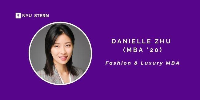 Danielle Zhu headshot