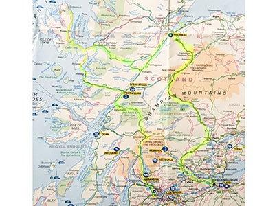 Nick Berger | 8. Route through Scotland