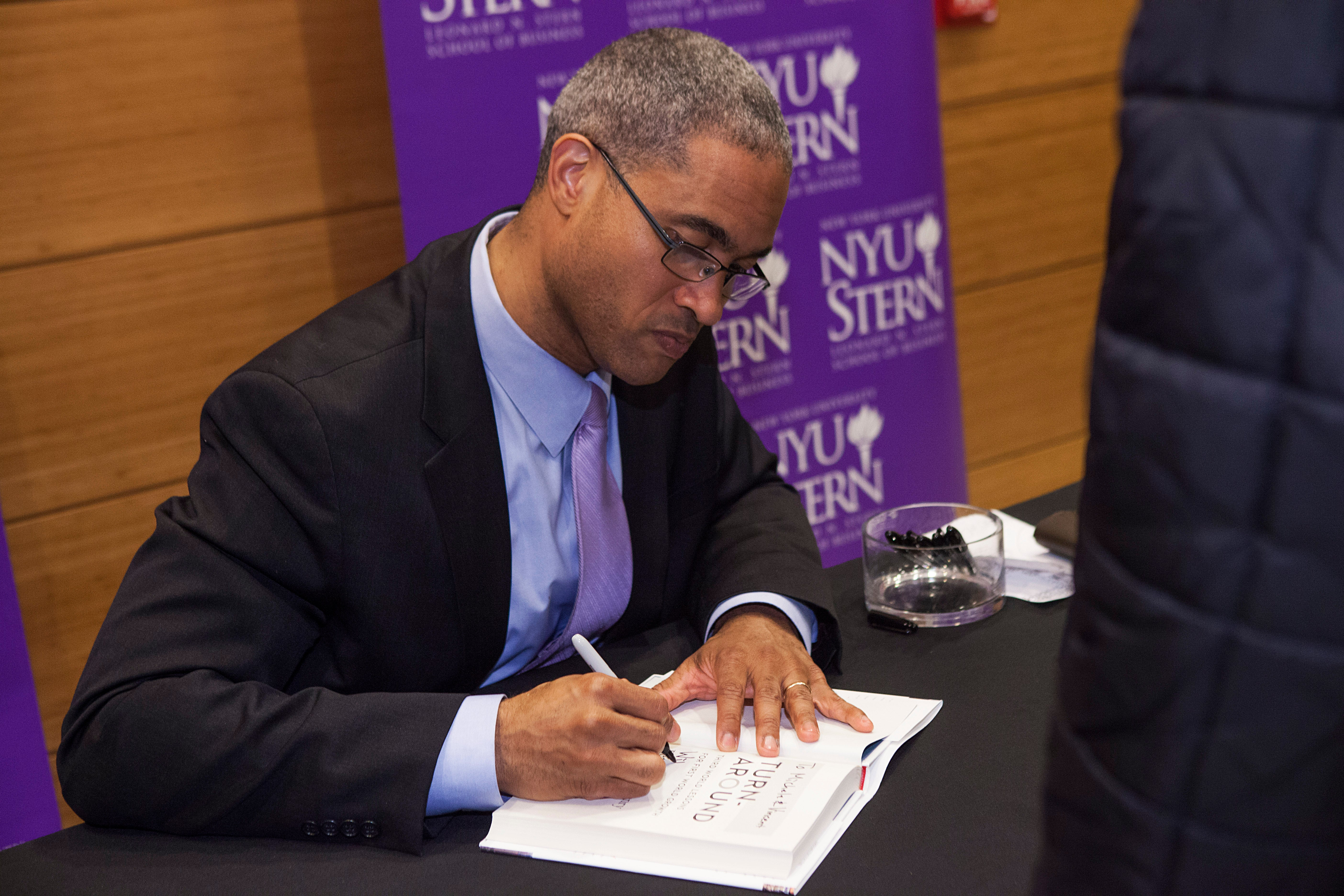 Dean Peter Henry Book Signing