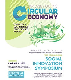 Poster for the 9th Annual NYU Social Innovation Symposium