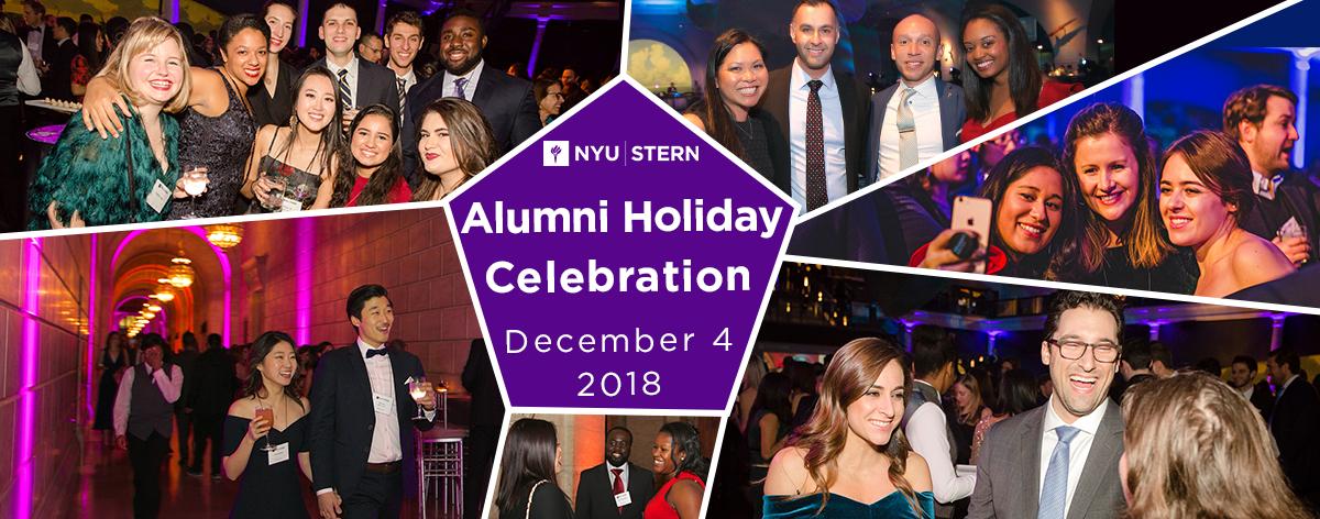 Alumni Holiday Celebration, December 4, 2018