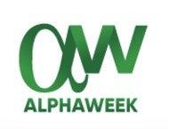 AlphaWeek Logo 190 x 145