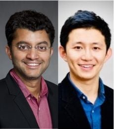 Headshots of Anindya Ghose and Chen Shuo Sun