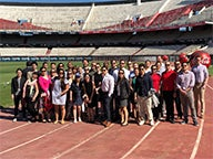 Group of MBA students in Argentina