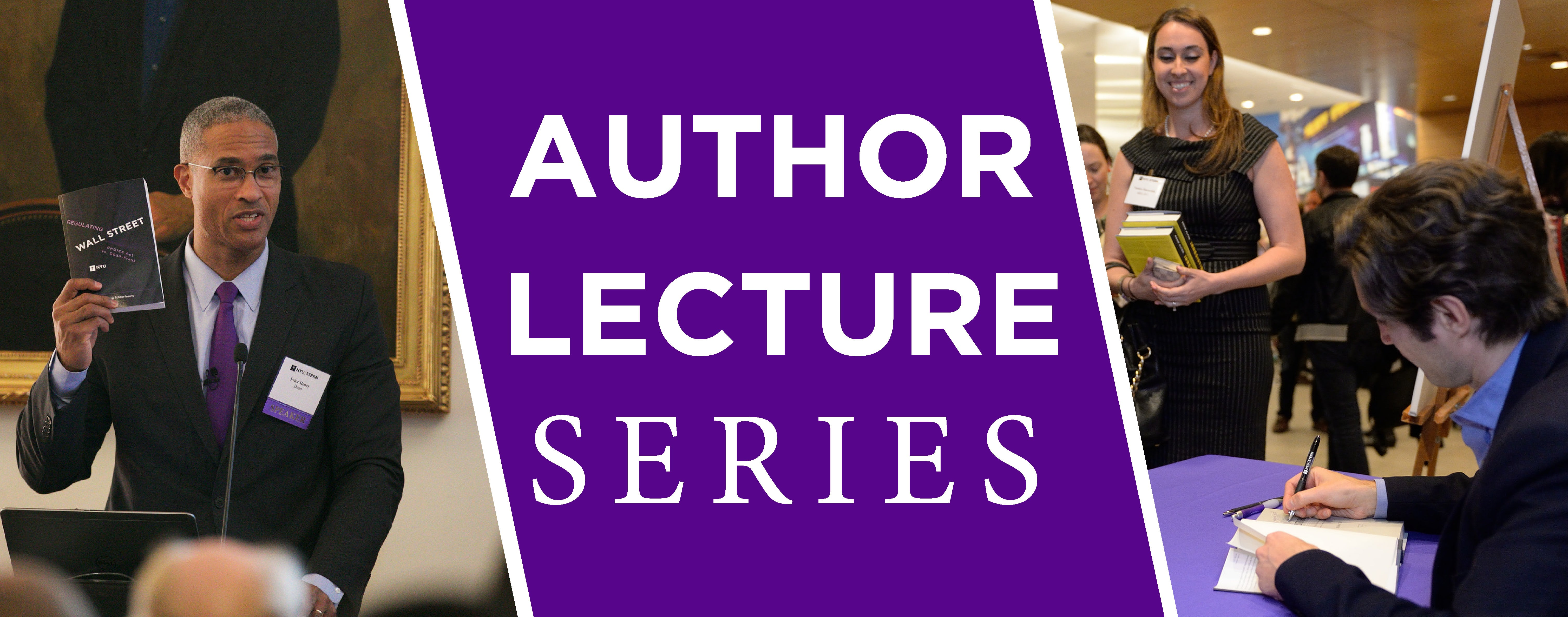 Author Lecture Series Photo Banner Splash