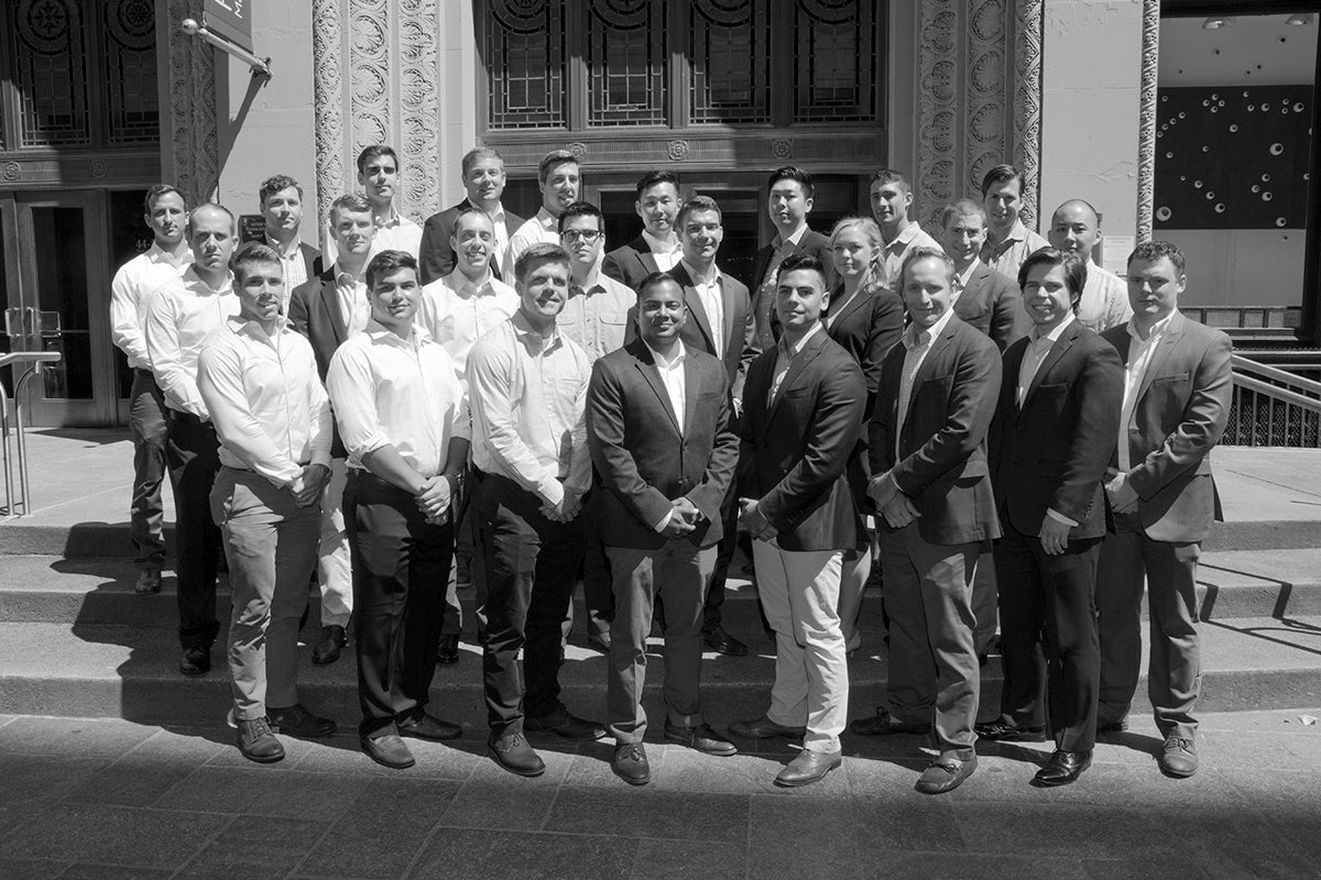 Fertitta Scholars and other Military Veteran Students in NYU Stern's Full-Time MBA Program