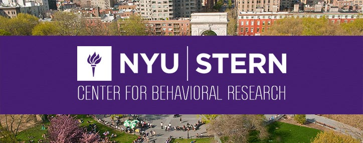NYU Stern Center for Behavioral Research