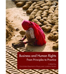 Cover of Business and Human Rights: From Principles to Practice