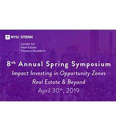CREFR 8th Annual Spring Symposium poster