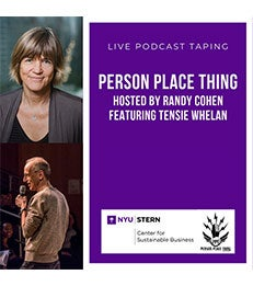 Person Place Thing Podcast Live Taping Event Flier