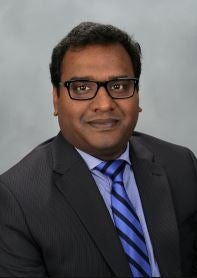 A headshot of Deepesh Chandra