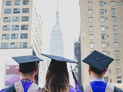 Photo of Stern graduates