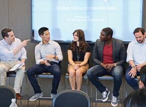 Tech MBA students visit Oscar