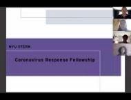 Stern Coronavirus Response Fellowship