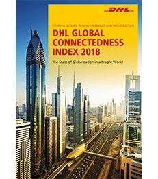 Cover of the DHL Global Connectedness Index 2018
