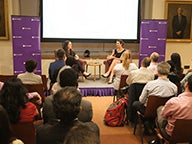 Kristen Sosulski at the Author Lecture Series