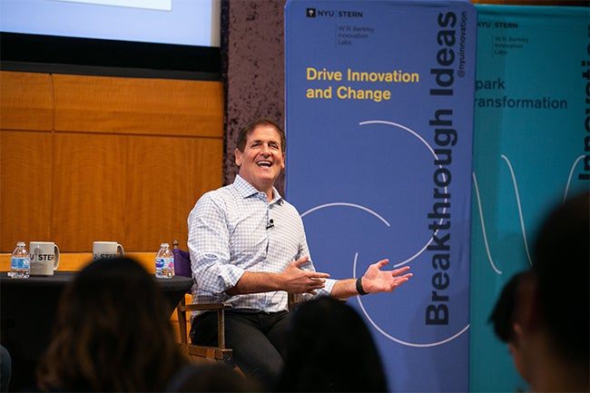 Entrepreneur and investor Mark Cuban