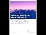 ESG and Financial Performance Cover