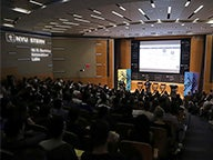 Audience at the $300K Entrepreneurs Challenge