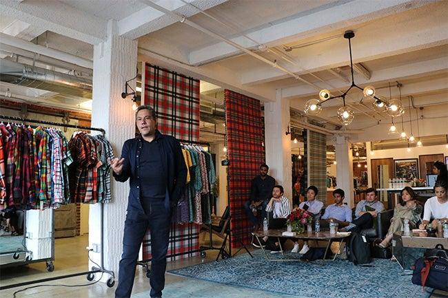 Fashion & Luxury MBA students visit Resonance Companies and engage with Joseph Ferrara