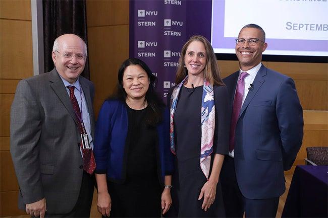 Kim Schoeholtz, Joyce Chang, Constance Hunter and Seth Carpenter