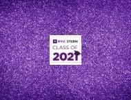 NYU Stern Class of 2021 Graduation Graphic