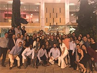 Group of Executive MBA students in Greece