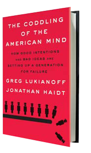 The Coddling of the American Mind - Jonathan Haidt - book cover