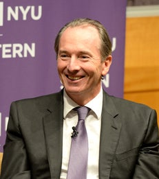 Events | Spotted on Campus: James Gorman, Chairman and CEO of Morgan