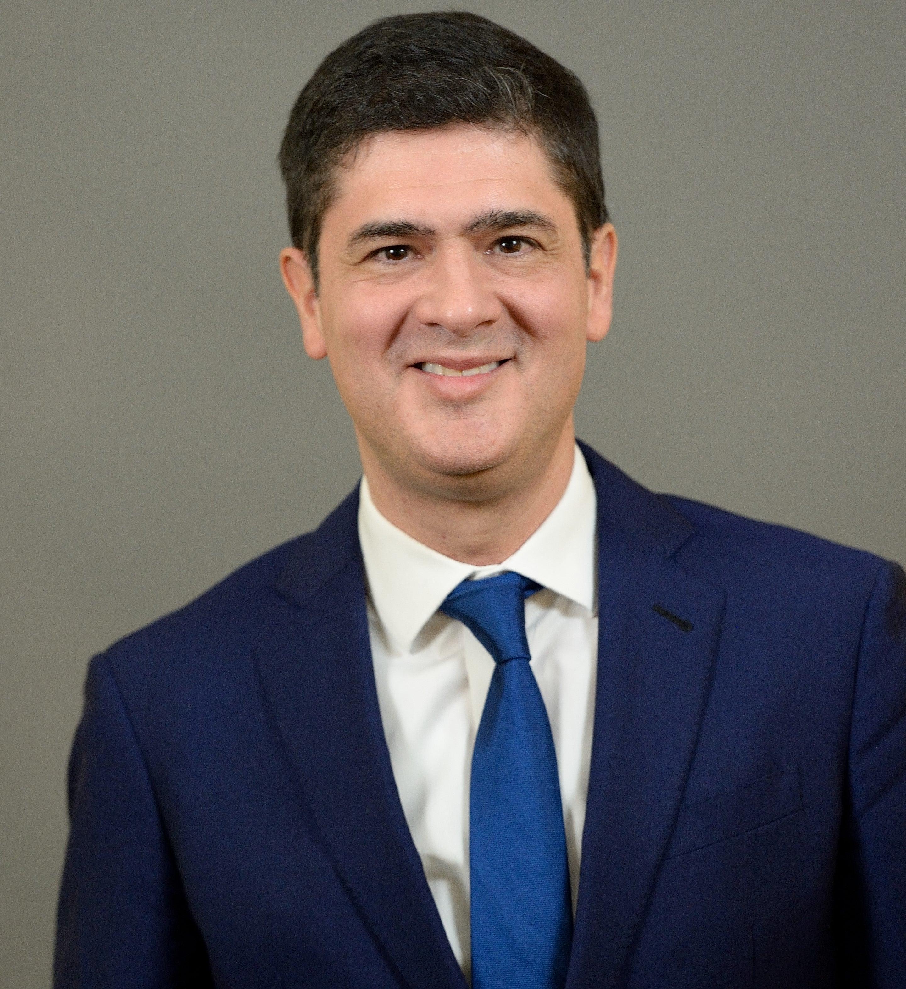 A portrait of Javier Santivanez