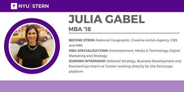 Julia Gabel Bio
