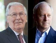 Mervyn King and Michael Sandel Headshots