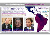 Latin America Business Conference 2019 Event Flyer