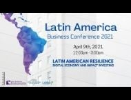 Latin America Business Conference Poster