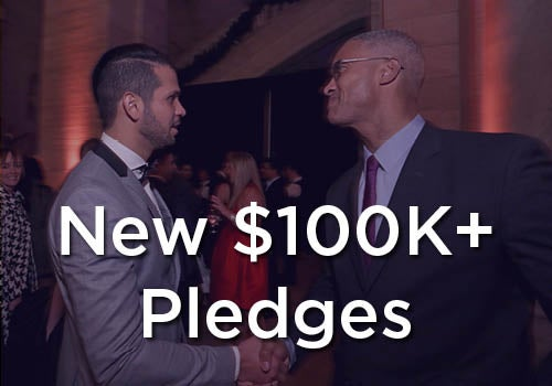 New $100K+ Pledges