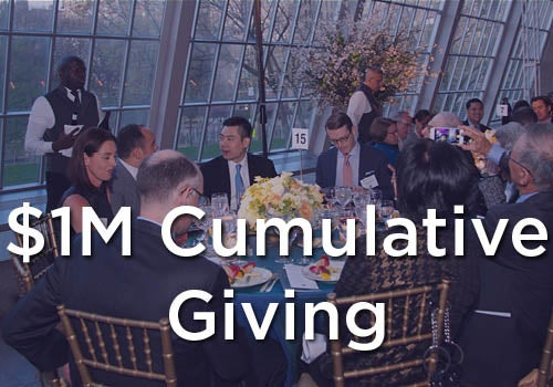 Leadership Giving - $1M Cumulative
